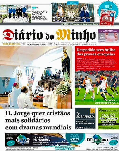 Diário do Minho 08/12/2016