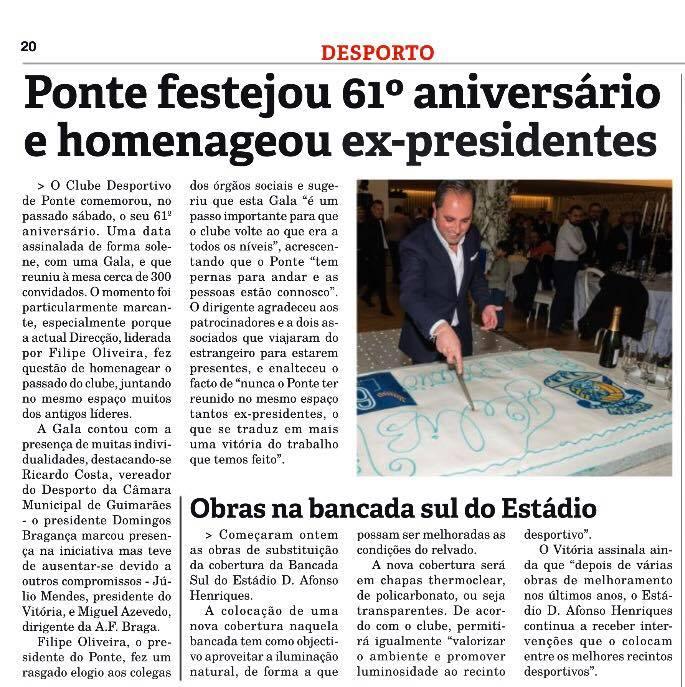 COMÉRCIO DE GUIMARÃES 07/02/2018
